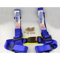 Cinturón De Seguridad 4 Puntos Azul