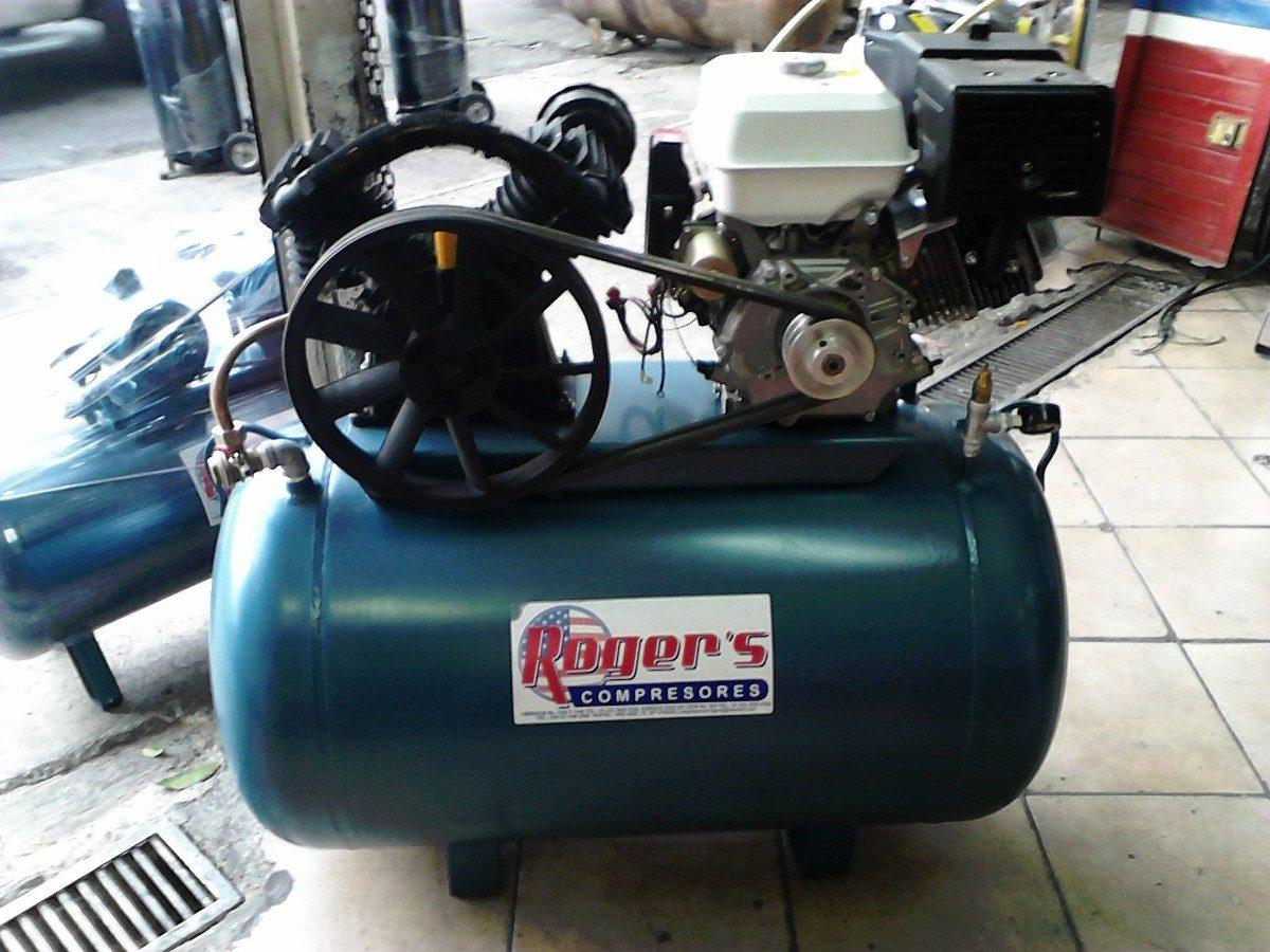 Compresor de aire con motor de gasolina 11 roger - Compresor de aire precio ...