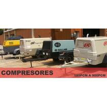 Desde 185 Pcm A 900 Pcm Compresores De Aire Portatiles