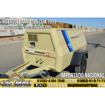 Compresor De Aire Ingersoll Rand 185 Cfm 1995 Compresores