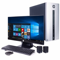 Gratis Envio Combo Computadora Hp Monitor Led 23 Core I3 1tb