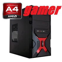 Computadora Cpu Gamer Amd A4 6300 7.8ghz X2 4gb 500gb Radeon