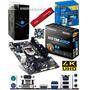 Pc Intel Core I3 4160 Dual Core + Ga-h81m-hd2 + 4gb + Dd 1tb