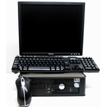 Oferta Equipos Dell Core2duo A 1gb De Ram Win 7 Ideal Cyber
