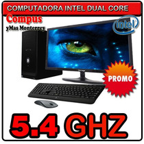 Pc Intel Dual Core 5.4ghz Led 18.5 Hdmi Vga 2gb Ram 500gb