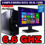 Pc Intel Quad Thread 6.6ghz 8gb Ram Led 18.5 Hdmi Vga 500gb