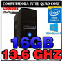 Cpu Intel Quad Core I7 4770 13.6ghz 16gb Ram Hdmi Vga 500gb