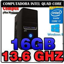 Cpu Intel Quad Core I7 4770 13.6ghz 16gb Ram Hdmi Vga 500gb