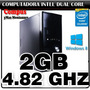 Cpu Intel Dual Core 4.82ghz 2gb 160gb Gigabyte Ideal Ciber