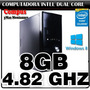 Cpu Intel Dual Core 4.82ghz 8gb 160gb Gigabyte Ciber Cafe Of