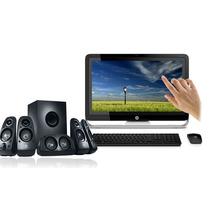 Computadora Hp All-in-one 23 Touch +bocinas Logitech Z506