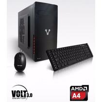 Computadora De Escritorio Vorago Volt Iii A4 4000 2gb 500gb