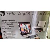 Hp All In One 23 1tb,4gb,w8+impresora Nueva Computadora