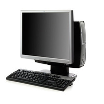 Pc Computadora Completa Hp, Monitor Lcd 17, 2gb Ram Garantia