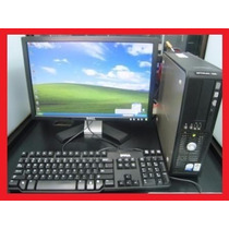 Pcs Dell Gx755 Core2duo, 2.66,2gb Ram,80gb,lcd,tec Mouse Usb