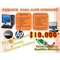 Paquete Ciber Cafe Oferta Especial Core 2 Duo A 10,000 Pesos