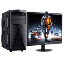 Computadora Gamer Basic Monitor 20 6 Nucleo 4gb 500gb #l