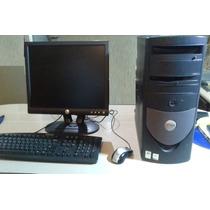 Cpu Dell Intel Pentium 4, 1gb Ram, Dd-40gb,monitor 15