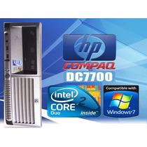 Cpu Hp Dc7700 Sff Core 2 Duo 1.8ghz/ Ddr2 1giga/hdd 80gigas