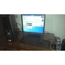 Optiplex 330 1 Gb Disco Duro 80 Pentium Dual, Pantalla Plana