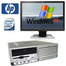 Computadoras Baratas Hp Core2duo 80gb Lcd19 Widescreen Lcd