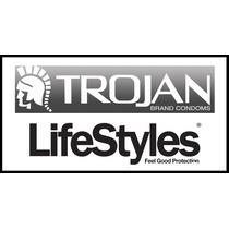 100 Preservativos Condones Trojan / Lifestyles Envio Gratis*