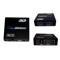 Multiplica Hdmi 1 Etrada 2 Salidas Splitter Pc Laptop 3d