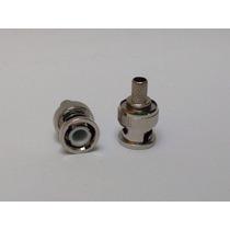 Conector Macho Tipo Bnc De Apretar Para Cable Rg59