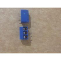 5pc Terminal Conector De Tornillo De 3 Pines Kf301-3p 5.08mm