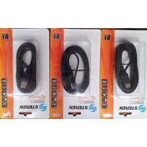 3 Cables Usb Impresora Marca Steren 1.8mts