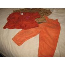 Torerita Y Pantalon De Pana T-2años X Las 3 Prendas