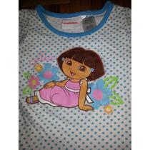 Conjunto De Dora La Exploradora Para Niña Talla 2/3 Años.