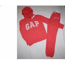 ~conjunto De Pants Gap Chamarra Gorro Y Cierre Pantalón T 12