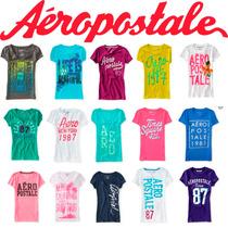 Lote 30 Playeras Aeropostale Mujer 2016 Usa Envio Gratis