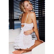 Victoria S´ Secret Babydoll Color Blanco Talla S