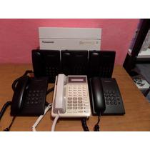 Paquete De Central Telefonica Panasonic Kx-ta308