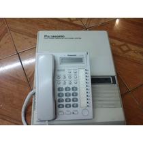 Conmutador Panasonic 3 Lins 8 Exts Contel Programador 7730