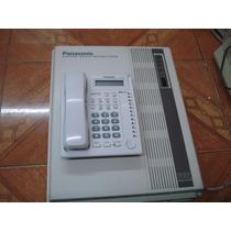 Conmutador Panasonic 8 Lins 32 Exts Con Tel Programador 7730