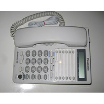 Telefono 2 Lineas Panasonic Kx-ts208 Con Altavoz Y Memorias