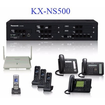 Conmutador Hibrido Digital Ip Panasonic Kx-ns500 Kx-td521