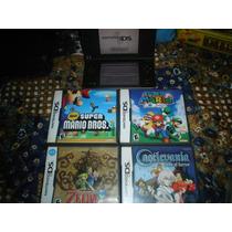 Nintendo Dsi Xl Con 2 Juegos (mario,zelda,castlevania)