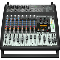 Consola Amplificada Pmp500 Behringer 500 Watts 12canales Vv4