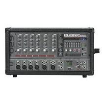 Consola Amplificada Phonic Powerpod 620r Grab Y Reprod Usb