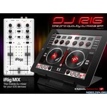 Mixer Para Dj Irig Mix Para Ipad, Ipod Touch, Iphone, Etc