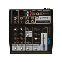 Ms602musb Mezcladora De Audio De 6 Canales Usb Bkl