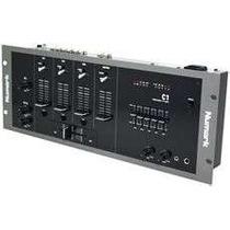 Numark C1 Mixer Mezcladora Dj De 3 Canales Ecualizador Prof.