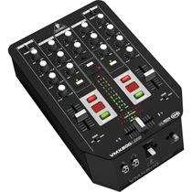 Mezcladora Vmx200usb Behringer 2ch Dj Mixer 3band Eq¡oferta!