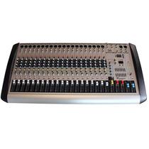 Mezcladora 20 Canales Reproductor Usb Soundtrack Usa Efectos