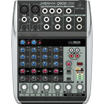 Mezcladora Behringer Xenyx Q802 Usb 8 Entradas Interface