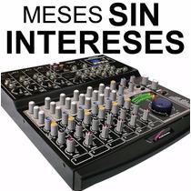Vecctronica: Audiobahn Mezcladora Mixer 8 Canales Usb Sd Y.!